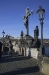 Charles Bridge - sculpture of the Holy Cross - Calvary