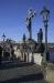 Charles Bridge - sculpture of the Holy Cross - Calvary