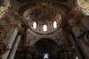 St. Nicholas Cathedral (czech: chrám sv. Mikuláše) - interior - dome of cathedral