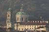 St. Nicholas Cathedral (czech: chrám sv. Mikuláše) view from Letna