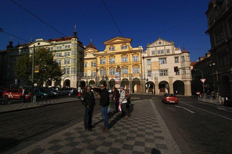 lesser town square prague