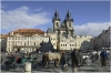 Prague 1 - Old Town Square - Church of Our Lady before Týn