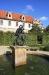 Wallenstein garden(valdštejnská zahrada) - Fountain with a sculpture