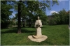 Charles Square and Statue of Czech writer - Eliska Krasnohorska