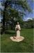 Charles Square and  the statue of Czech writer - Eliska Krasnohorska