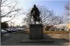 Statue of the former British Prime Minister Winston Churchill