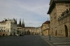 Prague Castle  from Hradčanské Square