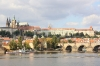 Prague Castle - view from embankment