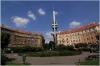 Prague 3 - the Skroupa´s Square (Škroupovo náměstí)