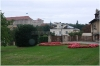 Prague castle - Production garden (also Lumbe garden), Lumbe villa - the residence of the President