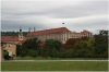 Prague castle - Production garden (also Lumbe garden), Czernin Palace in the background