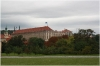 Prague castle - Production garden (also Lumbe garden), Czernin Palace in the background