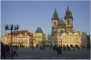 Prague 1,  Old Town Square - Church of Our Lady before Týn