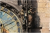Prague, Old Town Square, Old Town Astronomical Clock – Statue of Skeletons(Death) and Turkman