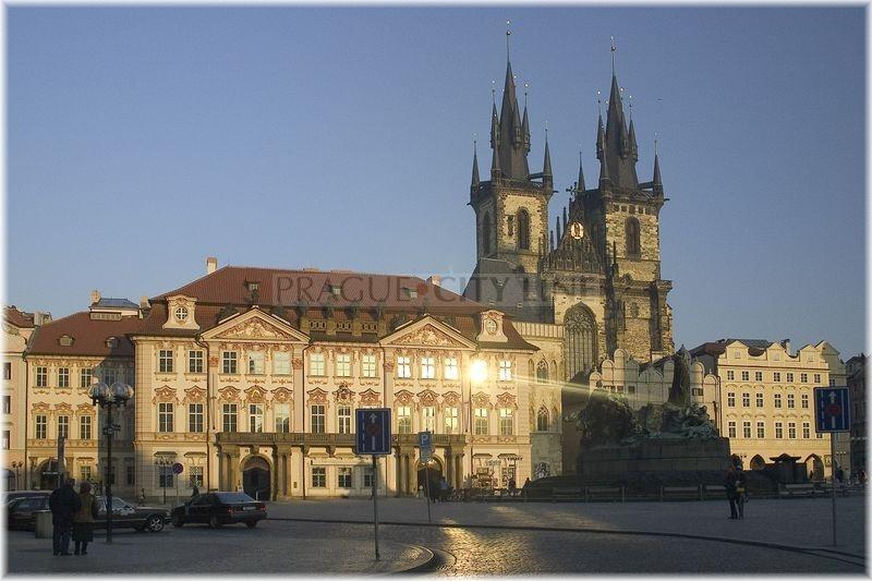 Prague City Line 187 Pal 225 C Golz Kinsk 253 Ch Golz Kinsk 253 Palace