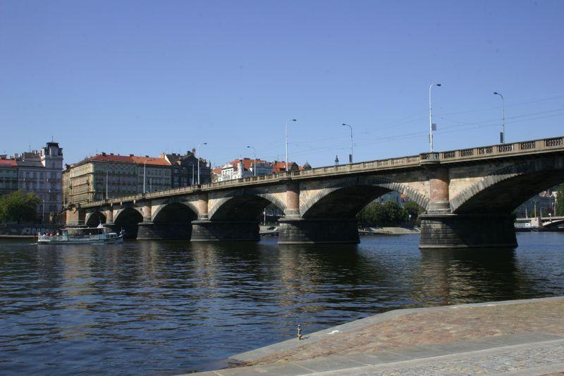 Palacky Bridge And Square Palack Ho Most A N M St